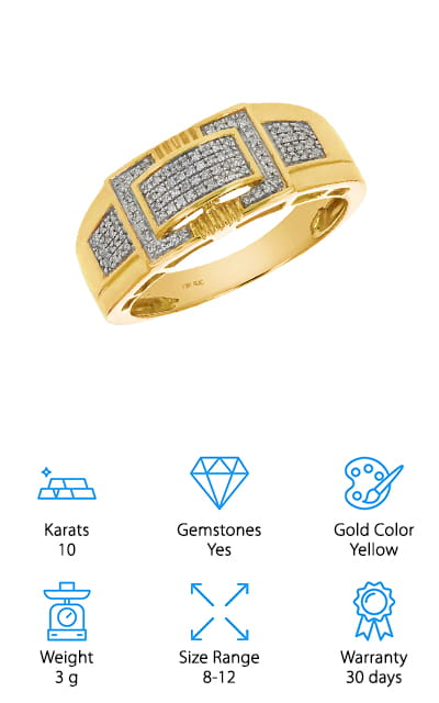 Vir Jewels Diamond Gold Ring