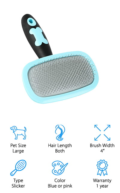 Glendan Slicker Dog Brush