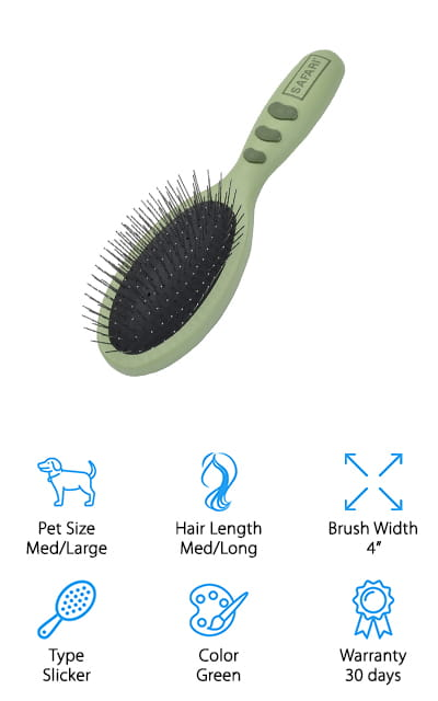 Safari Pet Pin Brush