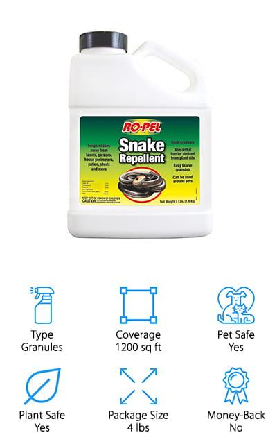 Ropel Snake Repellent Granules