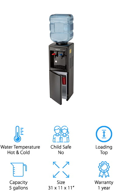 Farberware Freestanding Water Cooler