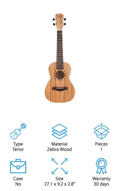 Caramel Tenor Acoustic Ukulele