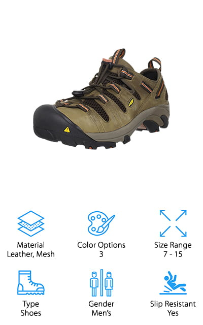 KEEN Utility Atlanta Work Shoe