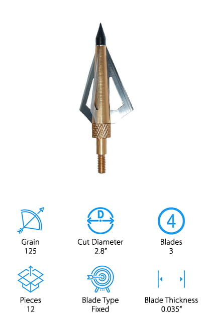 Huntingdoor Fixed Blade Broadheads