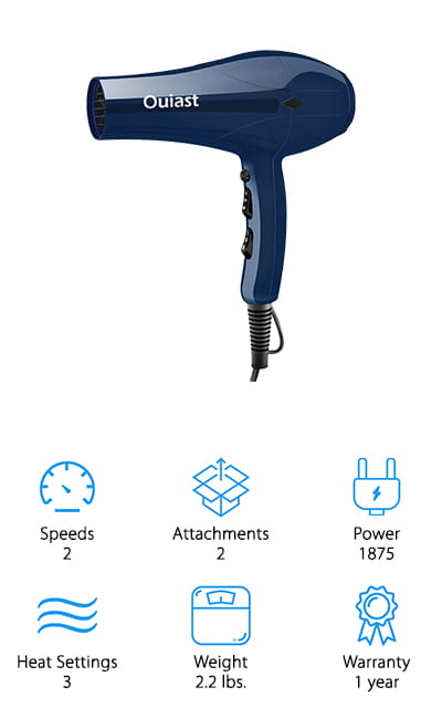 Ouiast Professional Hair Dryer