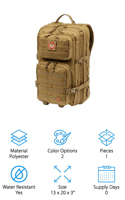 Orca Tactical Bug Out Bag