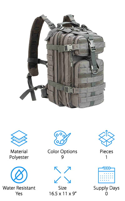 WolfWarriorX Bug Out Bag