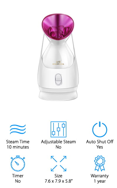 KINGDOM CARES Facial Steamer