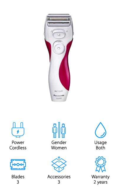 Panasonic Ladies Electric Shaver