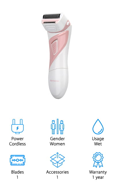 Miserwe Women's Electric Razor