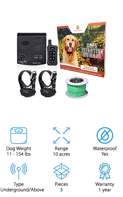 Pet Control HQ Dog Fence System