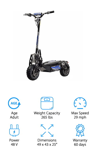 UberScoot Electric Scooter