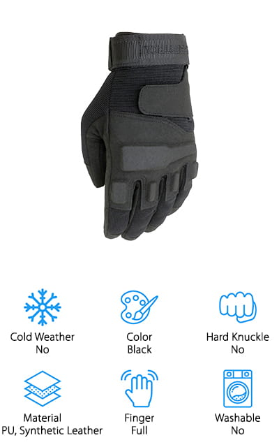 Seibertron Special Ops Gloves