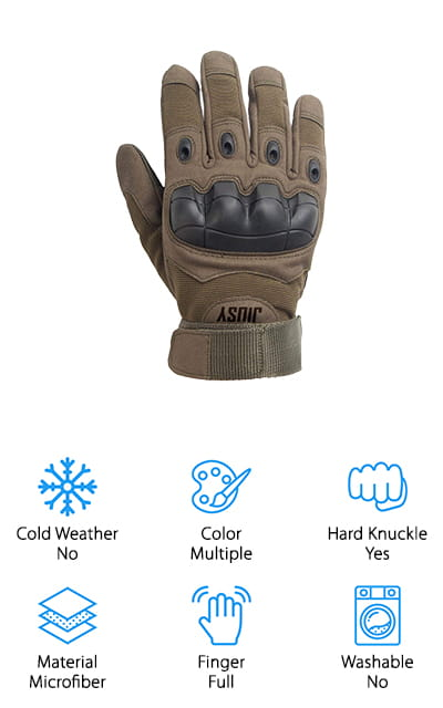 JIUSY Touch Screen Tactical Gloves
