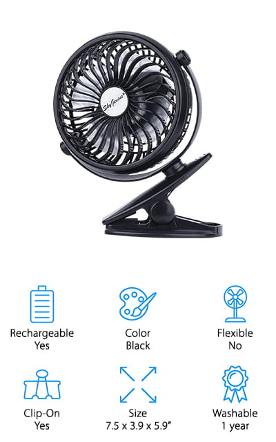 SkyGenius Mini Fan