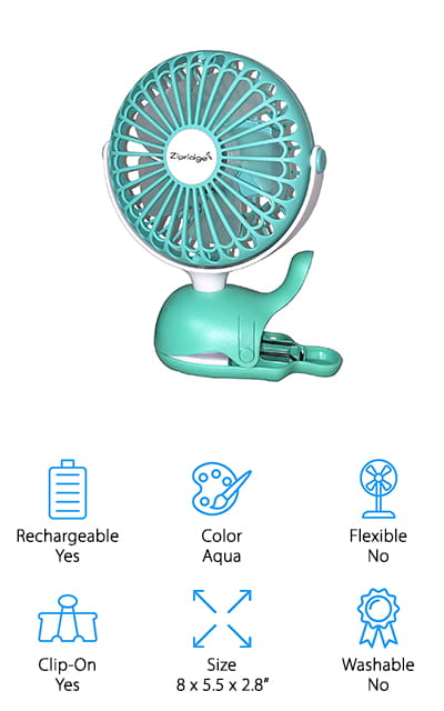 Zipridge Baby Stroller Fan