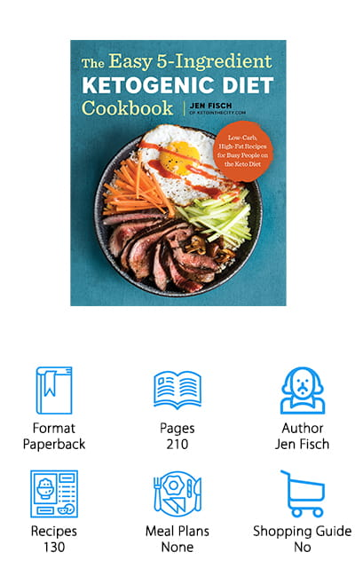 Easy 5-Ingredient Ketogenic Diet Cookbook