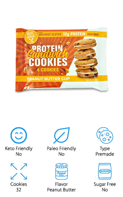 Buff Bake Protein Sandwich Cookies