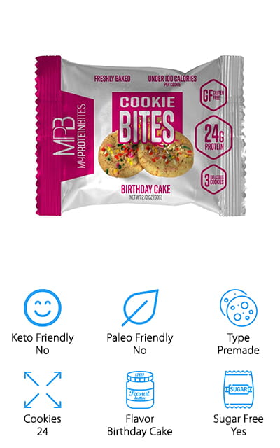 My Protein Bites Protein Cookies