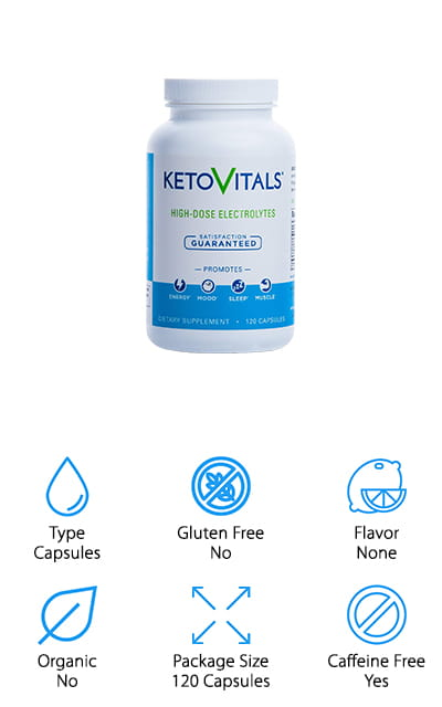 Keto Vitals Electrolyte Supplement