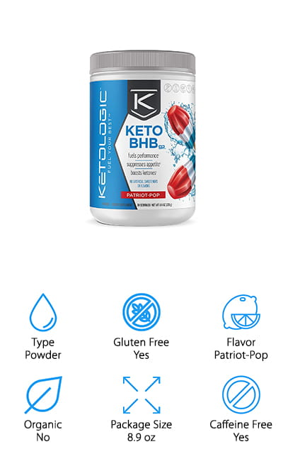 KetoLogic BHB Electrolyte Supplement