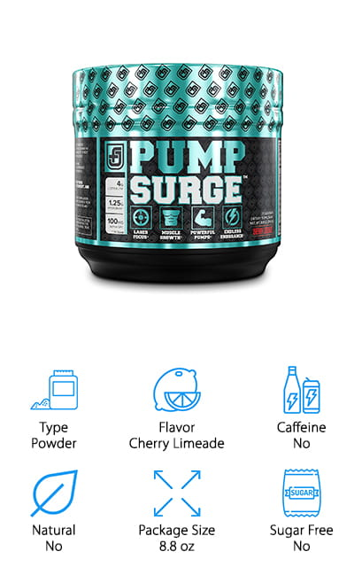 Pumpsurge Pre-Workout Supplement