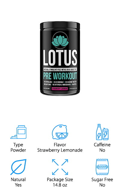 Lotus Pre Workout Supplement