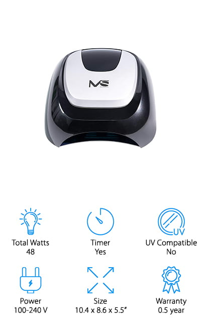 MelodySusie LED Nail Lamp
