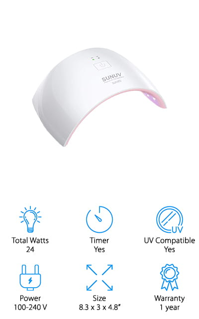 SUNUV LED Nail Dryer