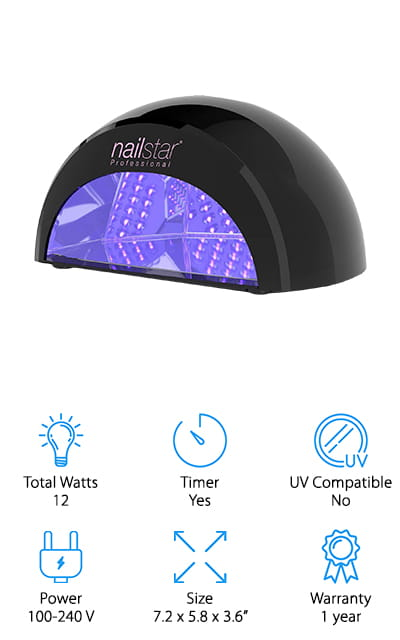 NailStar LED Nail Dryer