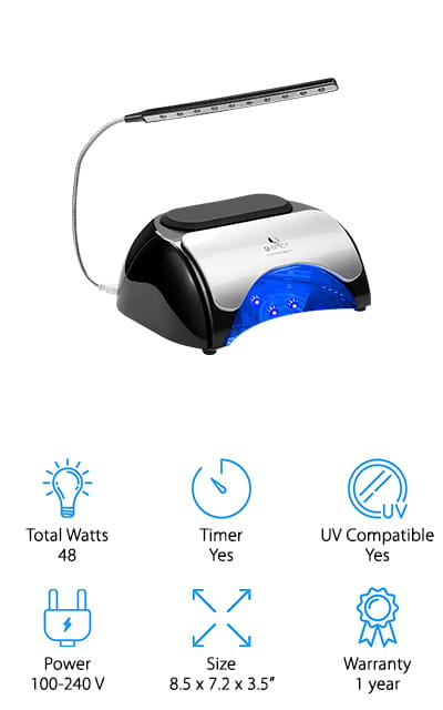 USpicy LED Nail Lamp