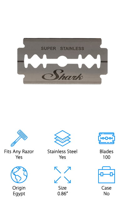 Shark Double Edge Razor Blades