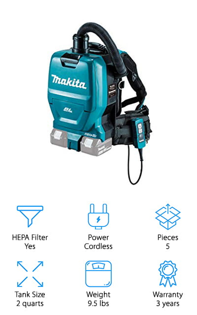 Makita Backpack Vacuum