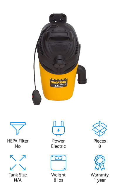Shop-Vac BackPack Vacuum