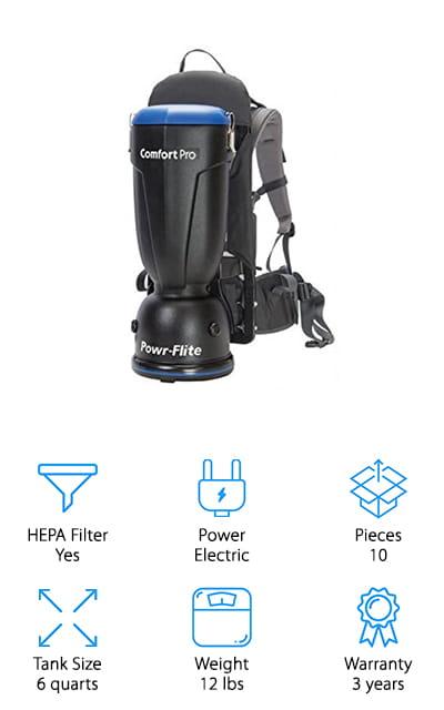 Powr-Flite Comfort Pro Vacuum