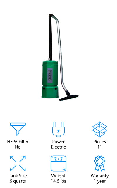Bissell BigGreen Commercial Vac