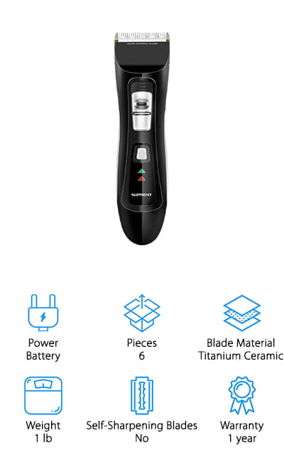 SUPRENT Pro Hair Clippers