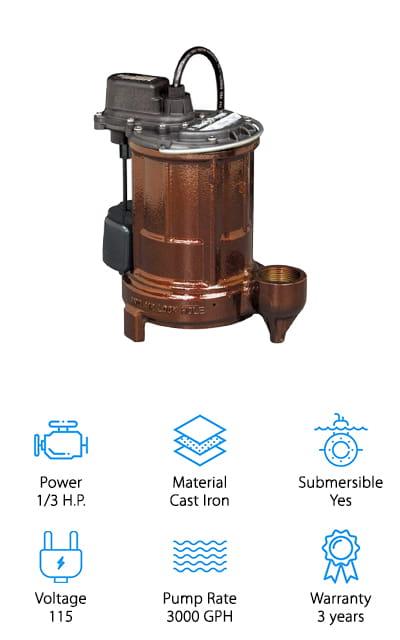 Liberty Pumps Sump Pump