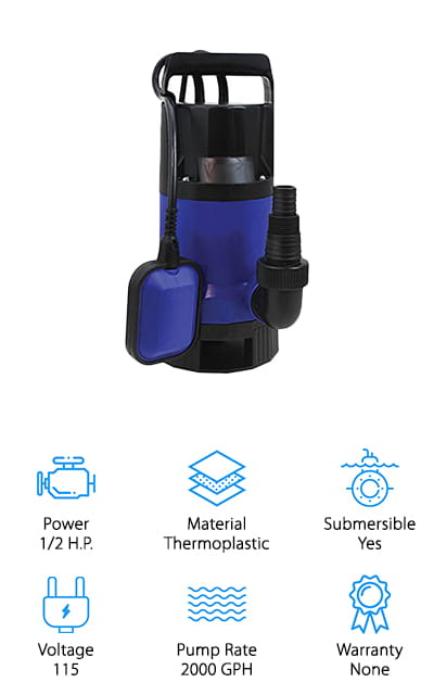 SumpMarine Pump