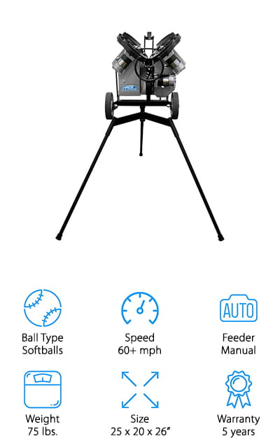 Sports Attack Pitching Machine