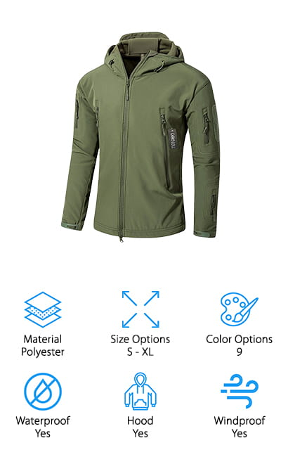 Camo Coll Tactical Jacket