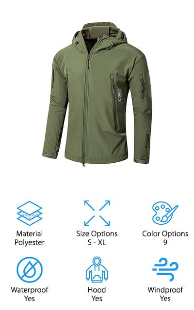 Camo Coll Tactical Jacket