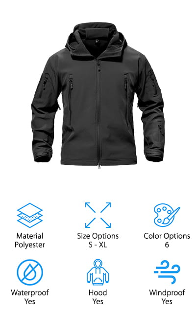 TacVASEN Special Ops Tactical Jacket