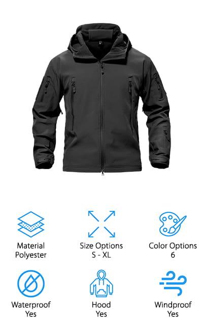 TacVASEN Special Ops Tactical Jacket