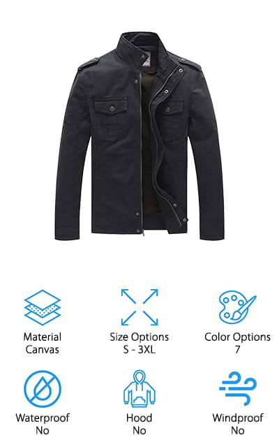 WenVen Military Jacket
