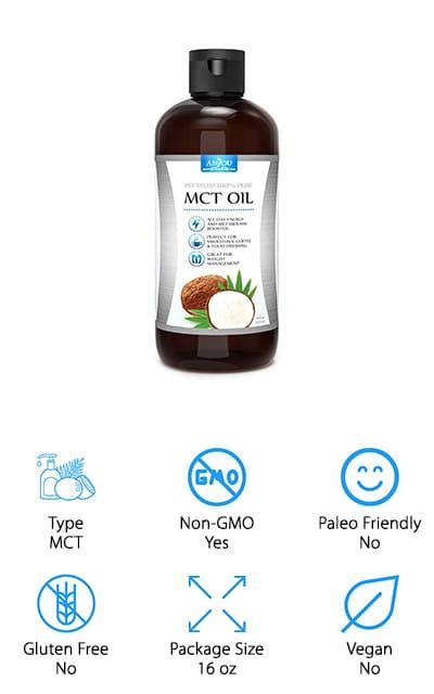 Anjou Premium MCT Oil