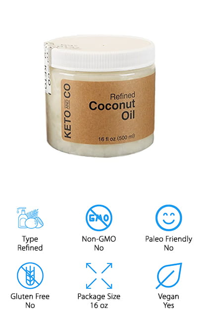 Keto Refined Coconut Oil