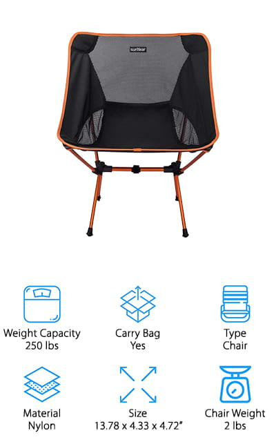 Sunyear Backpack Chair