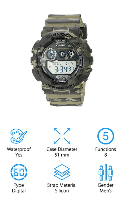 G-Shock GD-120CM Sports Watch