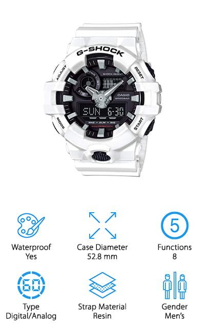 Casio G Shock Resin Casual Watch